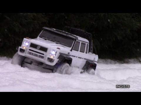 RC TRAIL MERCEDES G63 AMG SNOW EXPEDITION