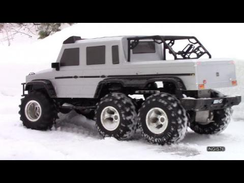 RC TRAIL 6X6 MERCEDES AMG G63 WINTER EXPEDITION