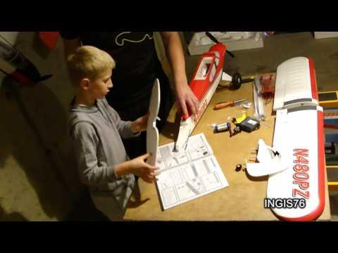 RC FLIGHT PARKZONE SPORT CUB BUILD FATHER & SON QUALITY TIME