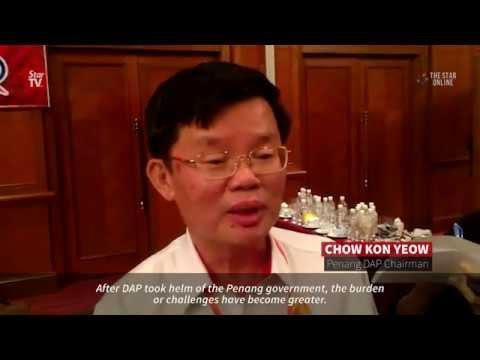 Chow once again Penang DAP chairman
