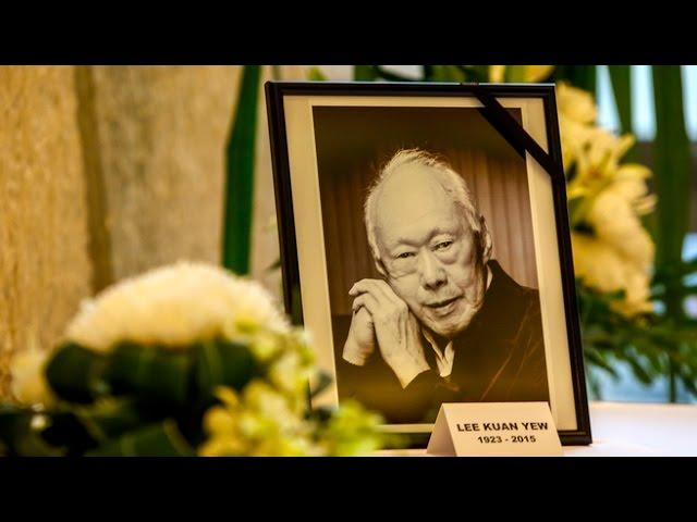 Lee Kuan Yew Funeral Procession