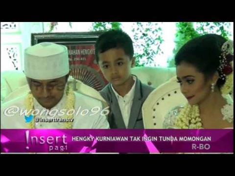 Prosesi Ijab Qabul Hengky Kurniawan dan Sonya Fatmala