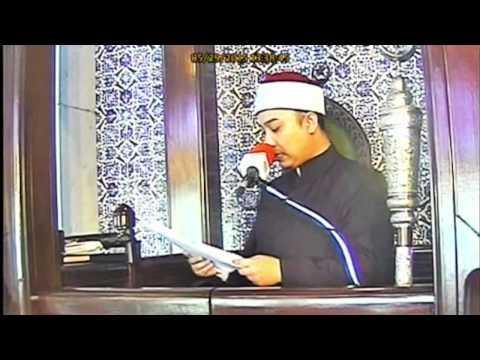 Rakaman Khutbah Jumaat Masjid Negeri Selangor  - 29 Mei 2015