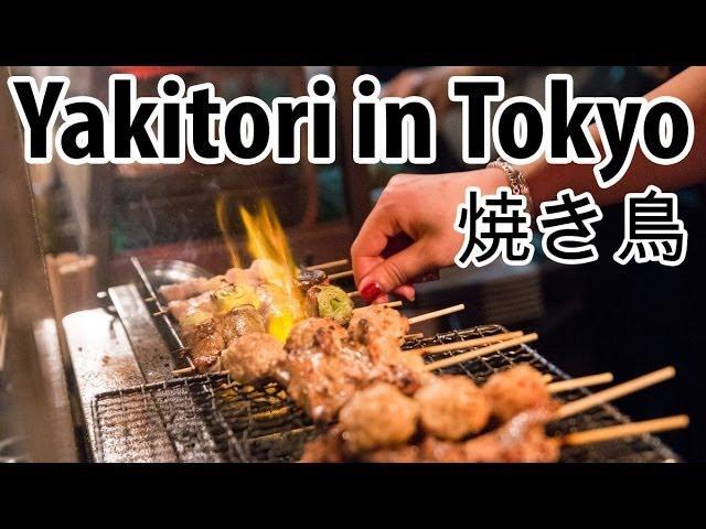 Eating Japanese Yakitori on Tokyo's Memory Lane (Piss Alley)