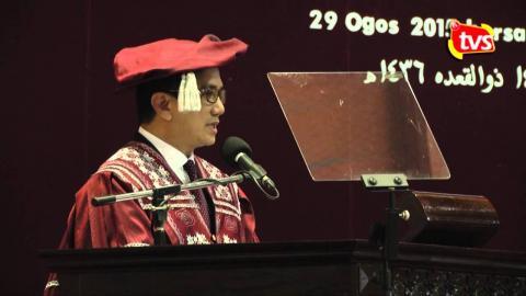 Ucapan Menteri Besar di Majlis Konvokesyen KUIS