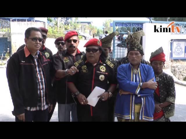Lukis punggung pemimpin, NGO buat laporan polis