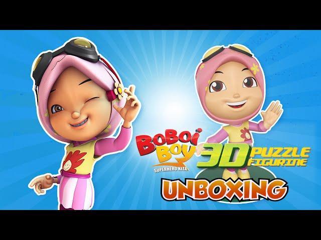 Yaya 3D Puzzle Figurine Unboxing