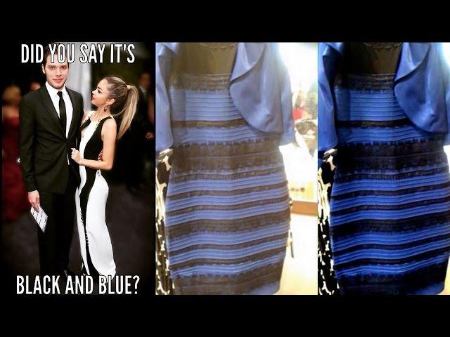 Celebs React to The Dress Debate: Black & Blue or Gold & White?