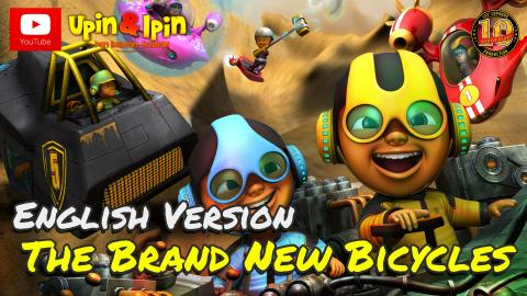 Upin & Ipin - The Brand New Bicycles [English Version]