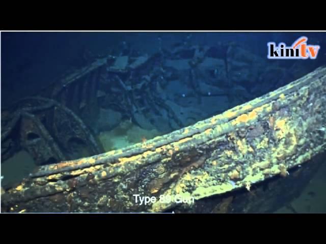 Jutawan jumpa kapal perang WWII Jepun di Filipina