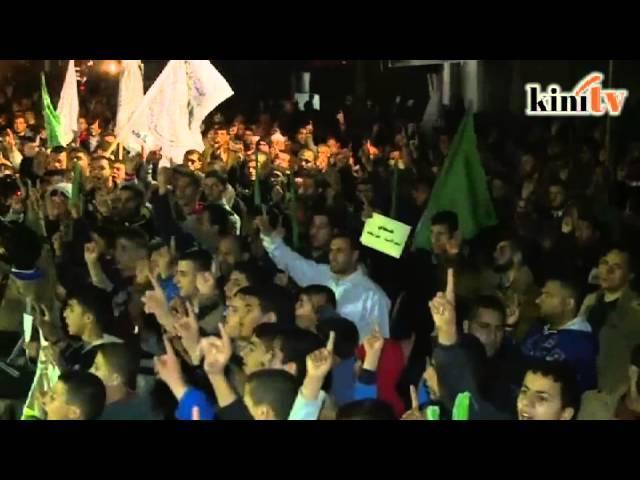 Ribuan bantah Mesir isytihar Hamas pertubuhan pengganas