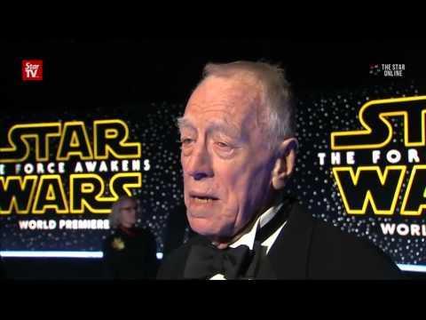 Star Wars world premiere unfolds on red carpet