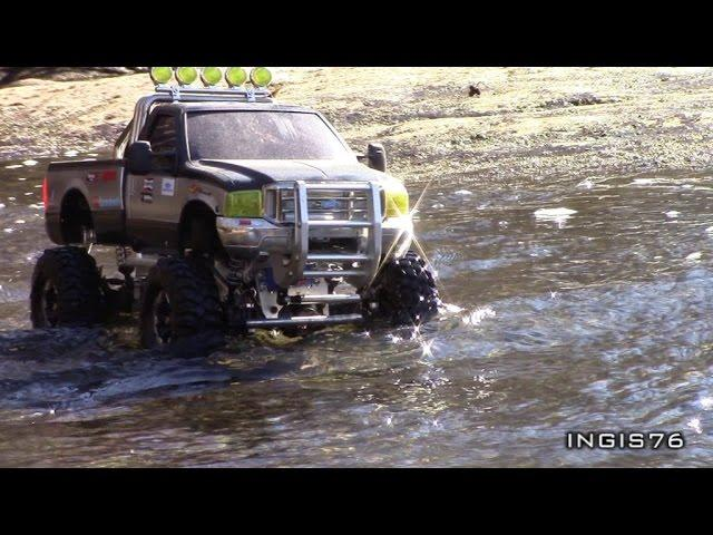 RC TRAIL FORD F350 STREAM EXPEDITION V8 MFC 02