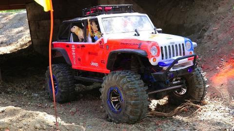 RC ADVENTURES - Trail Truck 4x4 Trials - Blackfoot RC & Rude Boyz RC!