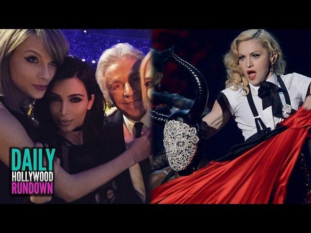 Madonna FALLS Off Stage - Taylor Swift & Kim Kardashian Brit Awards Highlights (DHR)