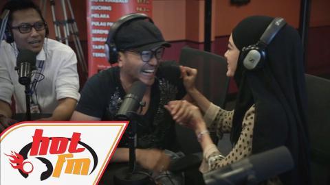 "Pengantin Baru #SamTilla ""Berbulan Madu"" Di Hot FM - #AMkrew"