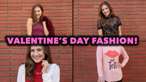 4 Looks For Any Valentine's Day Plans! (STYLEWIRE)