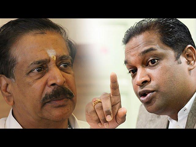 MIC not your father's property, Ramanan reminds Palanivel