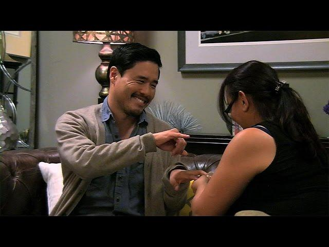 Randall Park on 'Repeat After Me'