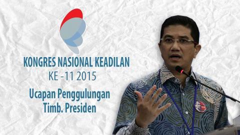 Kongres PKR: Ucapan Penggulungan Timb. Presiden