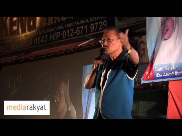 Chua Jui Meng 蔡锐明:马华没有正义感, 华社还要支持它吗?
