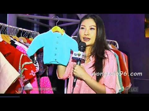 pasca melahirkan kini Sarwendah fokus jualan baju