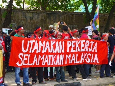 May Day rally at Kuala Lumpur ( 2 )