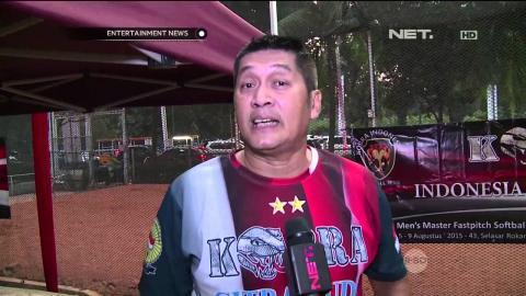 Donny Kesuma Gelar Syukuran atas Kemenangan Tim Softballnya