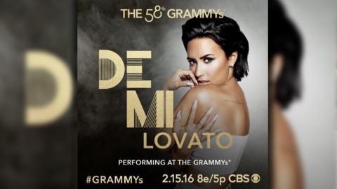 Demi Lovato To Perform Lionel Richie Grammy Tribute With John Legend, Meghan Trainor & Luke Bryan