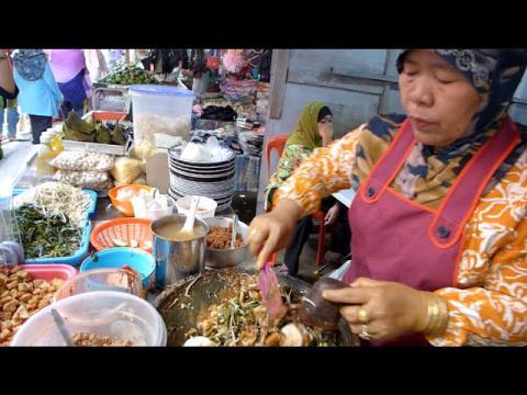 Rojak Lontong Jawa / Rujak Cigur @ Pasar Chow Kit, Kuala Lumpur