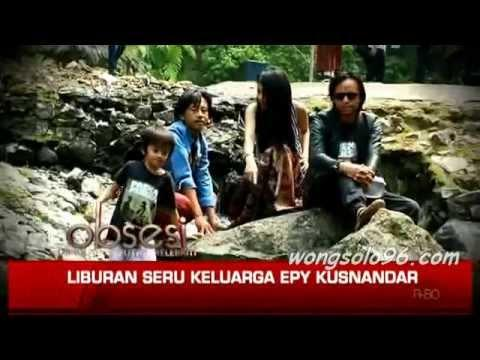 Liburan Santai bersama Keluarga Epy Kusnandar Pemeran Kang Mus Preman Pensiun