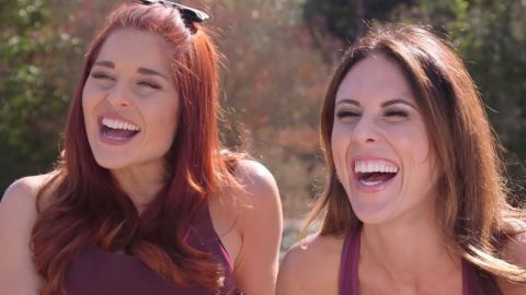 Erin Robinson & Joslyn Davis Reveal Weird Fears & Packing Items Amazing Race Season 28