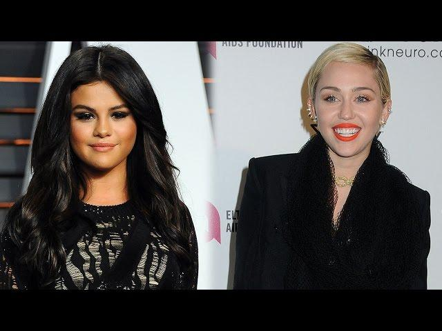 Miley Cyrus vs Selena Gomez: Best Oscars 2015 After-Party Style