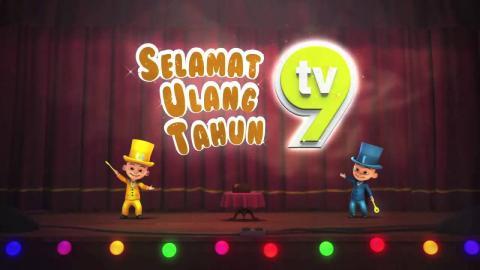 Upin & Ipin - Selamat Ulang Tahun ke-9 TV9