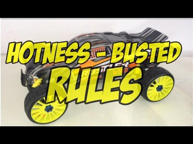HOTNESS - BUSTED RULES