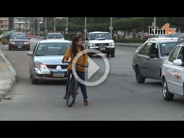 Yasmine abai gangguan seksual bagi tunggang basikal