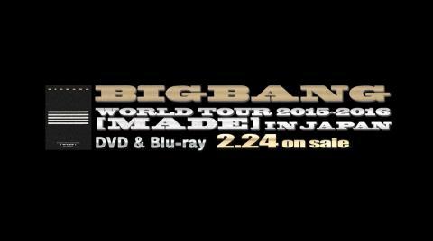 BIGBANG - FANTASTIC BABY (WORLD TOUR 2015~2016 [MADE] IN JAPAN)