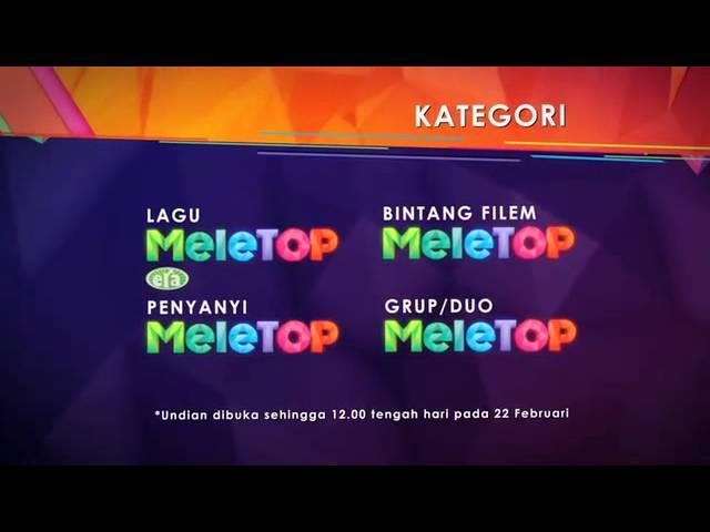 Anugerah Meletop Era 2015 - Undian fasa 2