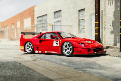 1994 Ferrari F40 LM $3,300,000!