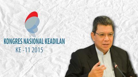 Saifuddin Abdullah : 'Di sana tegang, di sini tenang'