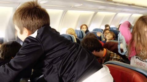 En tatlı uçuş eğitimine hoş geldiniz!
