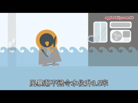 【2D睇】全球暖化「燒」到香港 米埔隨時變澤國