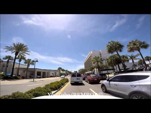 Clearwater Beach, Driving South, Spring Break 2016