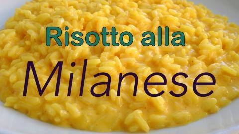 Risotto alla Milanese in MIlan, Italy