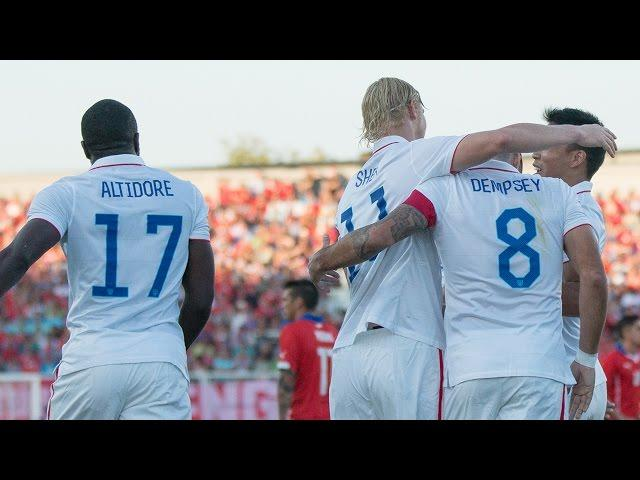 MNT vs. Chile: Highlights - January 28, 2015