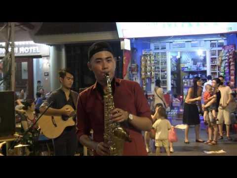 Street Performance In Hanoi Old Quarter