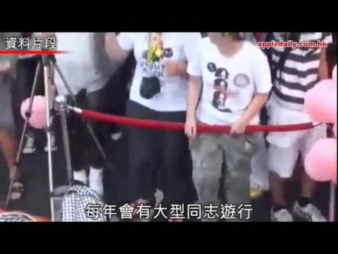 台藝人政黨撐同性婚姻 大陸同志多假結婚