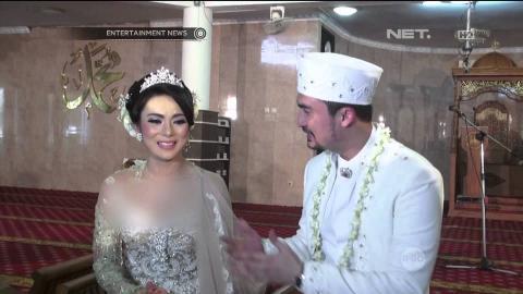 Reza Pahlevi Resmi Menikah dengan Astrilika Lintong