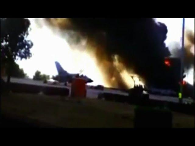 10 maut F-16 terhempas semasa latihan NATO