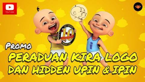 Peraduan Kira Logo & Hidden Upin & Ipin Musim 10